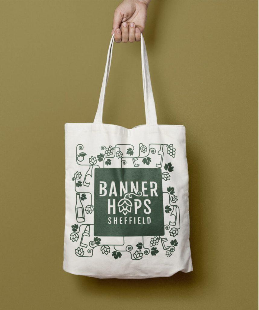 banner hopstote bag design