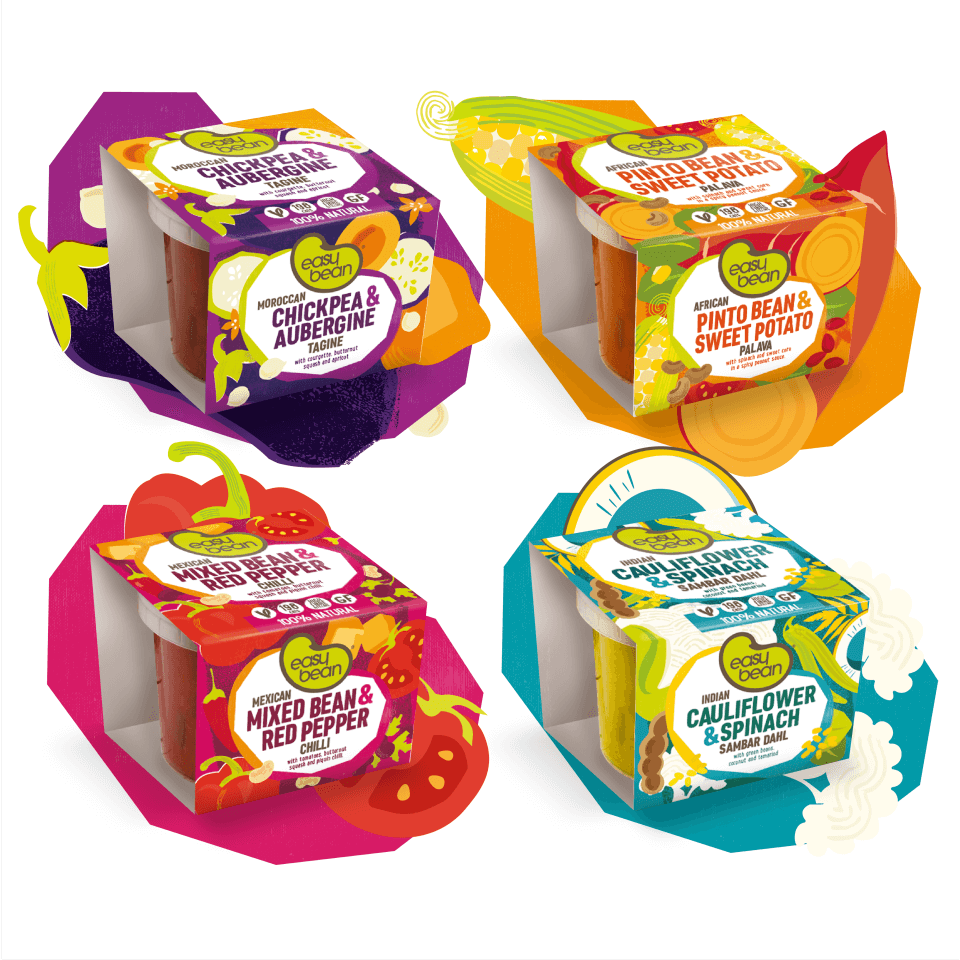 easybean meal pot package design