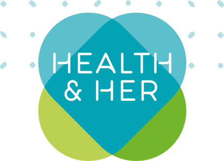 health and her logo design
