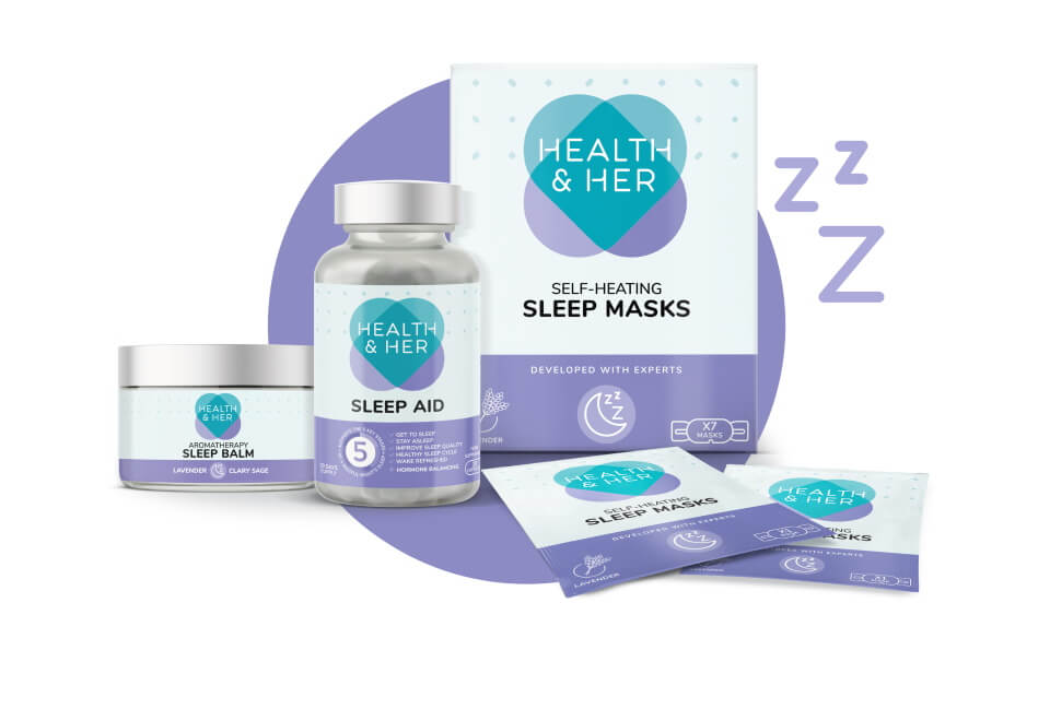 health and her sleep product design