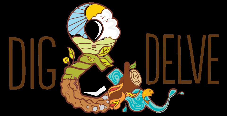 dig and delve logo design