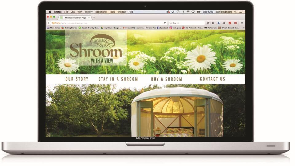 shroom web design